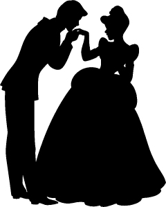 cinderella-prince-charming-silhouette