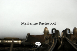 marianne dashwood