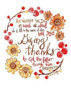 giving thanks wreath