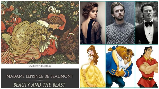beauty and beast Collage