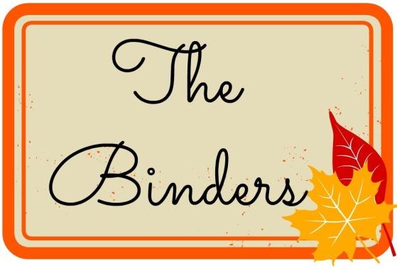 the binders