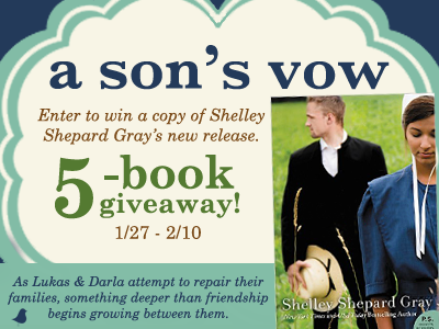 a son's vow giveaway