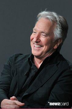 alan rickman laughing