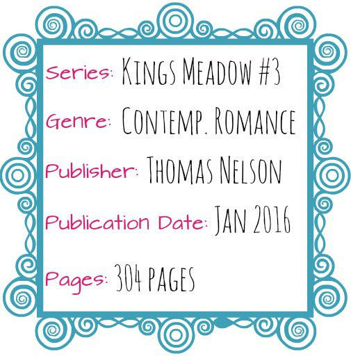 Kings Meadow 3 Zondervan Contemp Romance Jan 2016